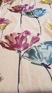 HARLEQUIN PENNELLO Fabric Bundle in Damson/Lime/Denim - 77% Viscose, 23% Linen