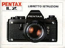 Pentax LX manuale in pdf su cd