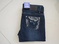 Outback/Wild Child-Ladies Bling Mid Rise Skinny Leg Stretch Jeans -Size Aus 12
