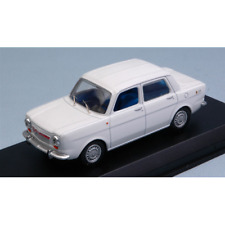 SIMCA ABARTH 1150 1963 BIANCO 1:43 Best Model Auto Stradali Die Cast Modellino