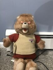 Vintage Teddy Ruxpin 1985 World Of Wonder Toy -