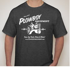 PLOWBOY EQUIPMENT T Shirt Gildan Ultra Cotton Many Sizes Tractor Farm Ag Parts