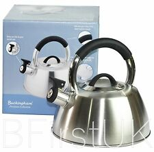 2.6L Induction Stove Top Electric Gas Whistling Kettle Stainless Steel Teapot