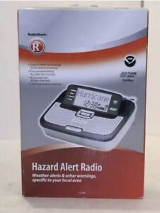 Radio Shack Hazard Alert Radio Weather Alerts & Other Warnings 12-262