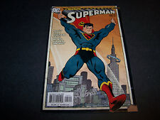 SIGNED ED MCGUINNESS SUPERMAN #226 INFINITE CRISIS FINAL ISSUE GOLDEN AGE HOMAGE