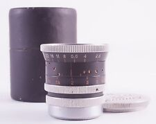 KERN PAILLARD YVAR 16mm F/2.8 WIDE ANGLE LENS FOR 16mm C-MOUNT MOVIE CAMERAS