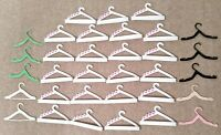 1980s and 1990s Vintage Barbie Clothing Hangers, Barbie Accessories (33 pieces!)