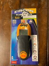 Zircon HD70 Studsensor Wood & Metal Stud Finder w/ Wire Warning Auto Correcting