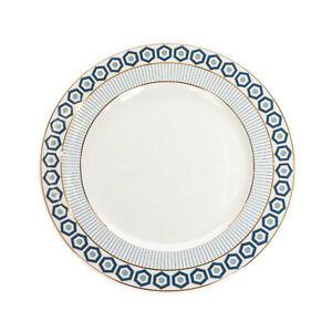 JONATHAN ADLER NEWPORT Porcelain Salad Plate Geometric Pattern Made in Portugal