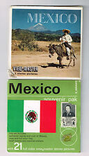 Souvenir Pack - B 001 S5 MEXICO - View-Master | Buy 3 or More For Free Shipping