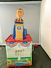 George Bush Hail to The Chief Presidential Jack In The Box Toy White House