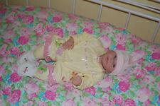 Reborn Baby Puppe Mädchen - wie Neu
