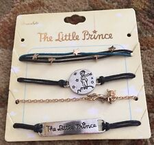 The Little Prince Le Petit Movie Space Star Charm Party Bracelets 4 Pack Set NWT
