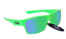 Gafas de sol de ciclismo verde de plástico