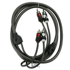 Wet Sounds WW-RCA-2CH-5FT Wet Wire 5 ft. 2-Channel Marine Audio RCA Cable NEW
