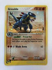 Pokemon 2003 EX Sandstorm Prerelease Stamped Promo Armaldo 1/100 - NM/MT