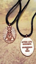 After Life Pendant Prayer AMULET for the Dead MEMORY Respect Wicca Pagan LOVE