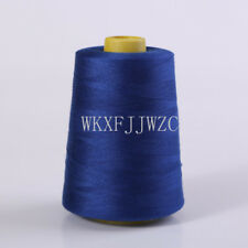 8000 Yards Blue Industrial Overlock Sewing Machine Polyester Thread Sewing