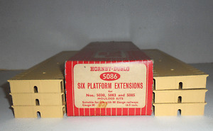 HORNBY DUBLO 5086 PLATFORM EXTENSIONS BOXED *UNUSED*