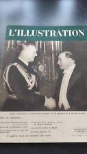 REVUE ILLUSTREE HEBDOMADAIRE L'ILLUSTRATION N°4998 ACCORD FRANCO-ALLEMAND 1938