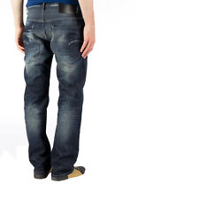 G-STAR RAW NUOVI radar basso allentato pantaloni fit dark aged Denim Jeans Stile Workwear