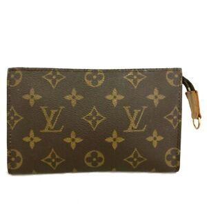 Louis Vuitton Monogram Cosmetics Pouch (Bucket PM) Purse /C1339