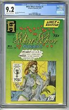 WHITE WHORE FUNNIES #1 1975 CGC 9.2 NM- OW/W 1ST PRINT UNDERGROUND COMIX