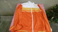 tracksuit jacket Ellesse Vintage L Xl era Vilas orange white yellow