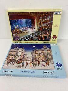 HOP Big 250 Piece Jigsaw Puzzle x2 Pantomine Treat Starry Night