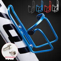 Aluminum Alloy Bicycle  Bike Drink Water Bottle Rack Holder Cycling Mount Cage