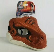 Jurassic World Legacy Collection Velociraptor Mask Jw Dinosaur Orange Face Mask