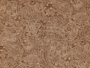 """CD-49662-203 108"""" WIDE QUILT BACKING, Subtle Paisley, cocoa, 100% COTTON, BTY"""