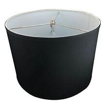 "FenchelShades.com 16"" Top Diameter x 16"" Bottom Diameter 11"" Height Cylinder Dru"