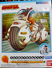Dragonball - Bulma's Capsule 9 Motorcycle Model Kit Bandai