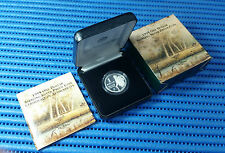 1995 Australia $1 One Dollar Silver Proof Waltzing Matilda Commemorative Coin