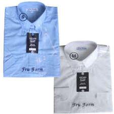 Camisas de vestir de hombre en color principal blanco 100% algodón
