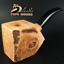 CLUB HOUSE Tobacco Pipe Briar Wood Block new FBB - Pre Drilled Beginner DIY Kit