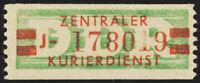 DDR-Dienst, B 31 a II J, Neubrand., ungebraucht, Befund Paul, Mi. ca. 300,-