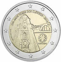 Portugal 2 Euro 2013 Glockenturm der Clerigos-Kirche Gedenkmünze bankfrisch