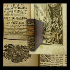 BERNARDUS : AURUM PHILOSOPHICUM AD LAPIDEM - 1700 VIENNA Filosofia Metafisica