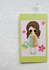 100 Accessories Tags Hang Tags Boutique Tags Cute Girl Price Tags W Plastic Loop
