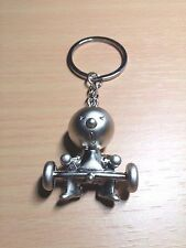Sexy Weight Lifting Metal Key Ring Chain - Funny For Him or Her