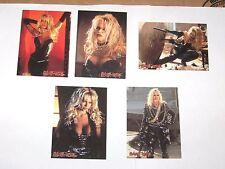 1996 BARB WIRE EMBOSSED CHASE INSERT CARD 5 LOT! PAMELA ANDERSON E1 E2 E4 E9 E10