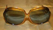 VTG Women's B & L Ray Ban Sunglasses 1960s Amber Canada EUC Oversized