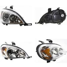 MB2503114 Headlight for 03-05 Mercedes-Benz ML350 Passenger Side
