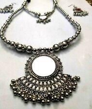 Tribal Necklace NAGA Banjara Rabari Kuchi Mirror Gypsy Handmade Pendant Rare