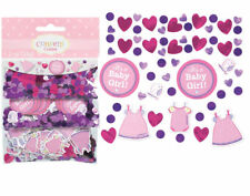 Amscan 341489 Shower With Love Girl Confetti Pack of 12