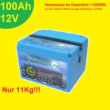 Li - Accu mit BMS LiFePO4 100Ah 12V Lithium mit 1200Wh ### TOP ###