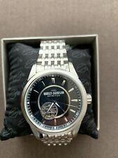 Harley Davidson Automatic Watch Manufactured By Bulova,very Rare