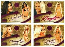 2021 Benchwarmer Gold - Auto Card lot [4 cards]